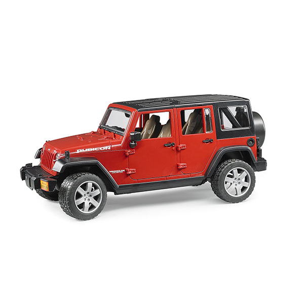Džip Jeep Wrangler Unlimited Rubicon Bruder 025250
