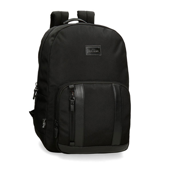 Ranac za laptop 15,6in Pepe Jeans All Black 74.723.61