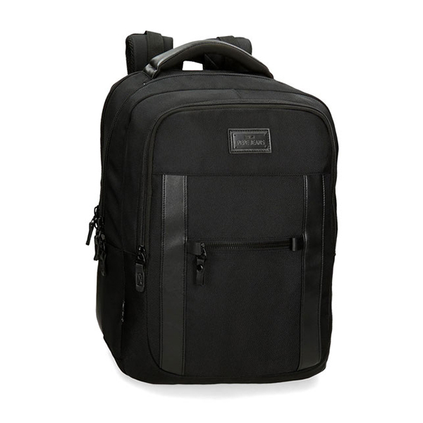 Ranac za laptop 15,6in Pepe Jeans All Black 74.725.61