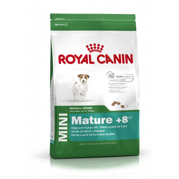 Royal Canin Mini Mature +8 za pse malih rasa 8kg 776
