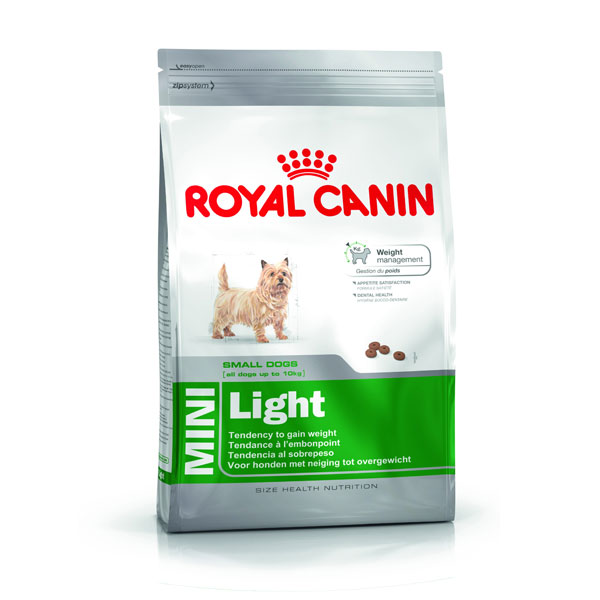 Royal Canin Mini Light za male rase 2kg 155